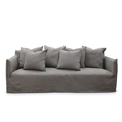 Como Mauve 3.5 Seater Deep Sofa Cover