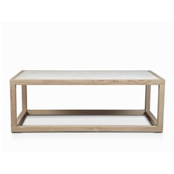 Daintree Chalk & White Marble Coffee Table