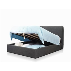 Forbes Charcoal Double Lift Bed