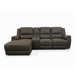 Kansas Graphite 2 Seater Right Chaise