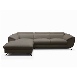 Milan Grey Right Chaise