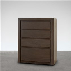 Villa Grey Walnut Tallboy