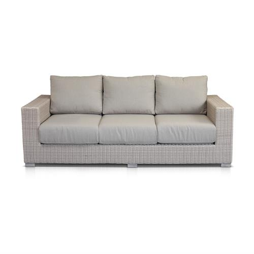 Barcelona Natural 3 Seater Lounge