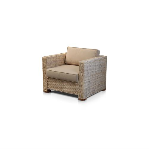 JL Santoso Natural 1 Seater Lounge