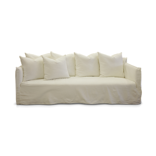 Como Lounge Slip Cover White 2200W 870D | James Lane -