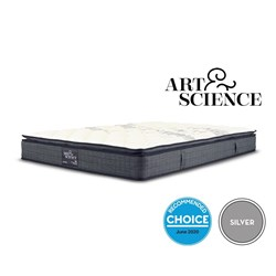 Silver Balanced Comfort King Mattress