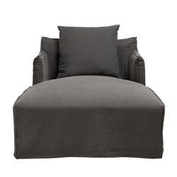 Como Day Bed Cover Charcoal