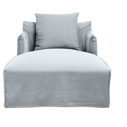 Como Day Bed Cover Moody Blue