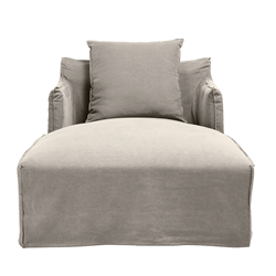 Como Day Bed Cover Stone