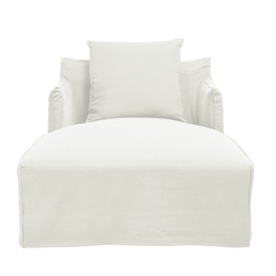 Como Day Bed Cover White