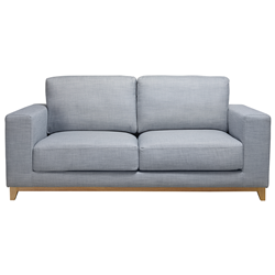 Dallas Blue Haze 2 Seater Sofa