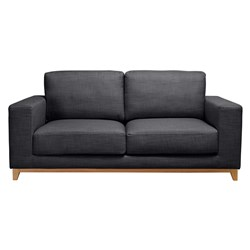 Dallas Warm Charcoal 2 Seater Sofa