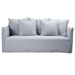Como Moody Blue 2.5 Seater Sofa
