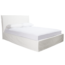 Noosa White Double Bed