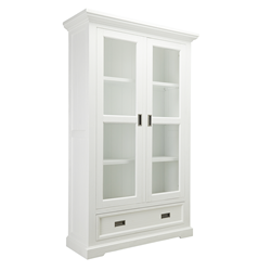 Aspen Brushed White Cabinet
