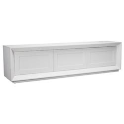 Balmain White 3 Door TV Unit