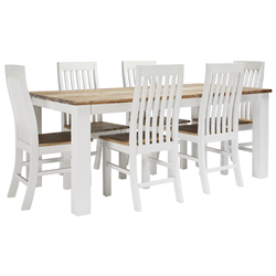 Somara 1900 Dining Suite (Table & 6 Chair)