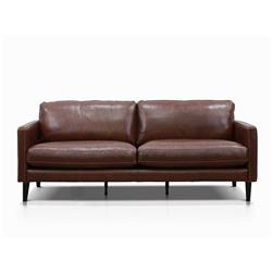Harvey Hickory Brown 3 Seater Sofa