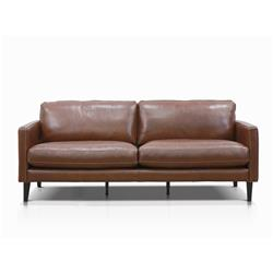 Harvey Rodeo Brown 3 Seater Sofa