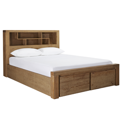 Hobart King Bookend Bed