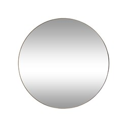 Minim Gold 90cm Round Wall Mirror