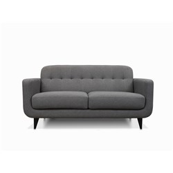 Amalfy Charcoal Grey 2 Seater Sofa