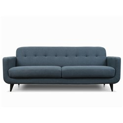 Amalfy Midnight Blue 3 Seater Sofa