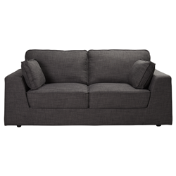 Harper Warm Charcoal 2 Seater Sofa