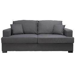 Parker Charcoal Grey 3 Seater Sofa