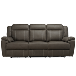 Stanley Graphite 3 Seater Electric Sofa