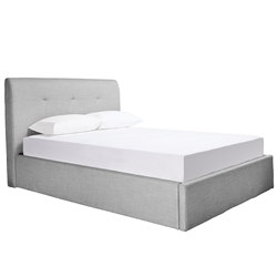 Terrigal Light Grey King Bed