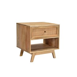 Tulum 1Dwr Bedside Table