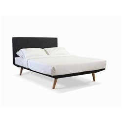Oslo Charcoal Double Bed