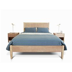Le Reve Chalk Queen Bed