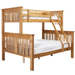 Bailey Rich Honey Single Double Bunk