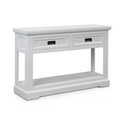Aspen Brushed White Console