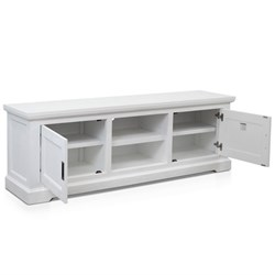 Aspen 1700 Brushed White TV Unit