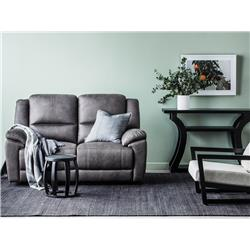 Kansas Graphite 2 Seater Recliner
