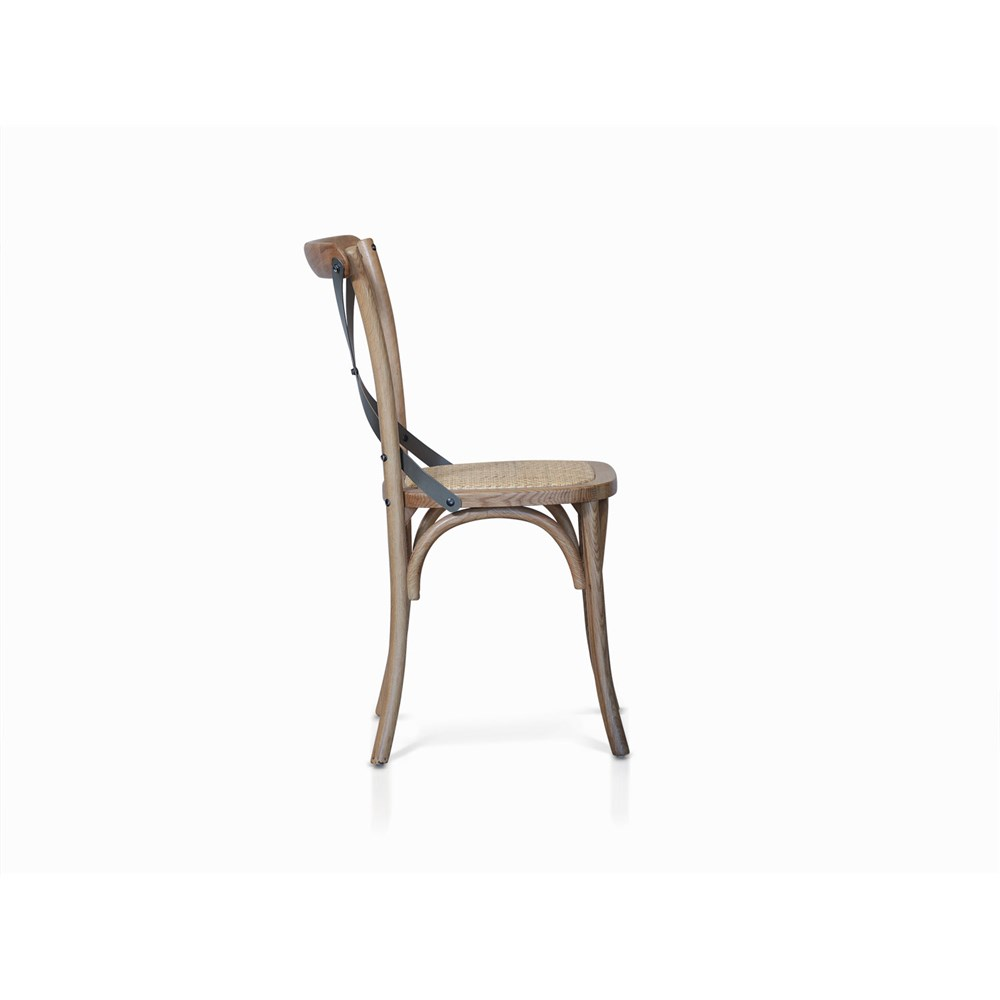 Avoca Dining Chair Replica Bella Cross Natural James