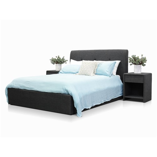 Terrigal Charcoal Double Lift Bed