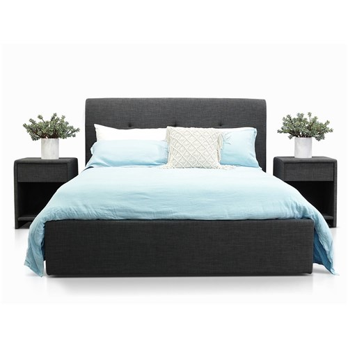 Terrigal Charcoal King Bed