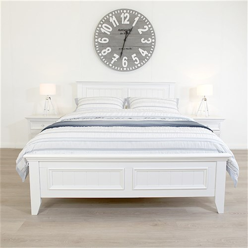 Mandalay White Double Bed | James Lane Beds Online -